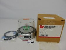 Federal Signal 211740 02 Clear Strobe Model 901 12 To 48 Volts Dc Screws