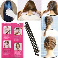 Fashion French Hair Braiding Tool Roller With Hook Magic Twist Styling Bun Maker