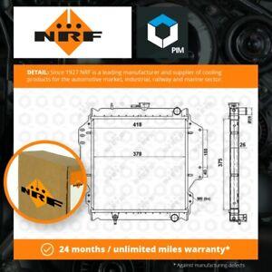Radiator fits SUZUKI SAMURAI SJ410 1.0 88 to 04 F10A Manual Coolant NRF Quality