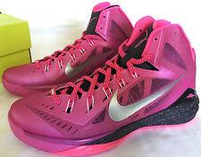 new Nike Hyperdunk 2014 653640-608 BCA Pink Fire Basketball Shoes Mens 13 Breast