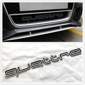 Embleme-AUDI-QUATTRO-calandre-front-grille-AUDI-A4-A5-A6-A7-RS5-RS6-RS7-RS-Q3