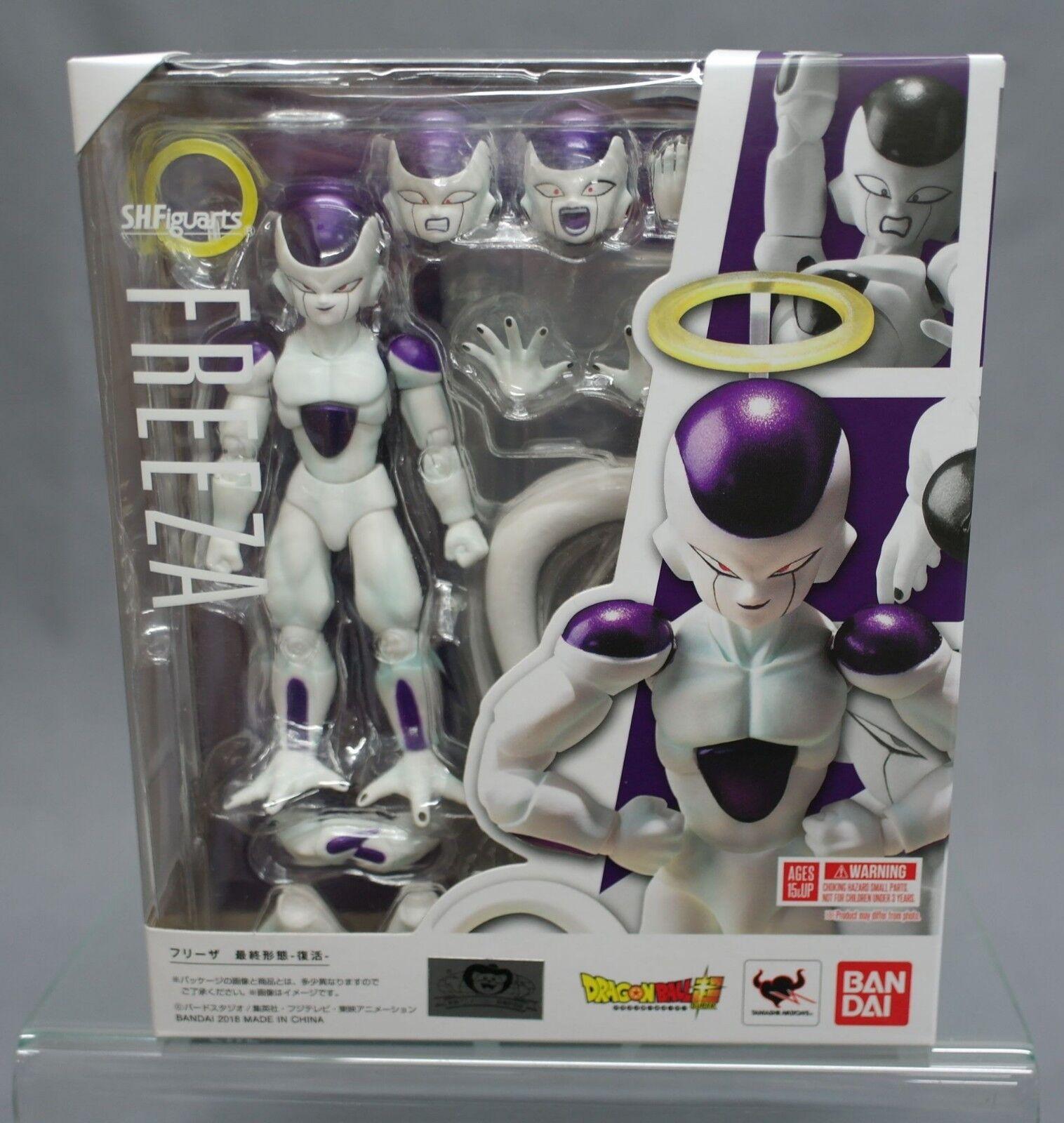 SH S.H. Figuarts Dragon Ball Z Frieza Freezer Final Last Form Bandai New Japan