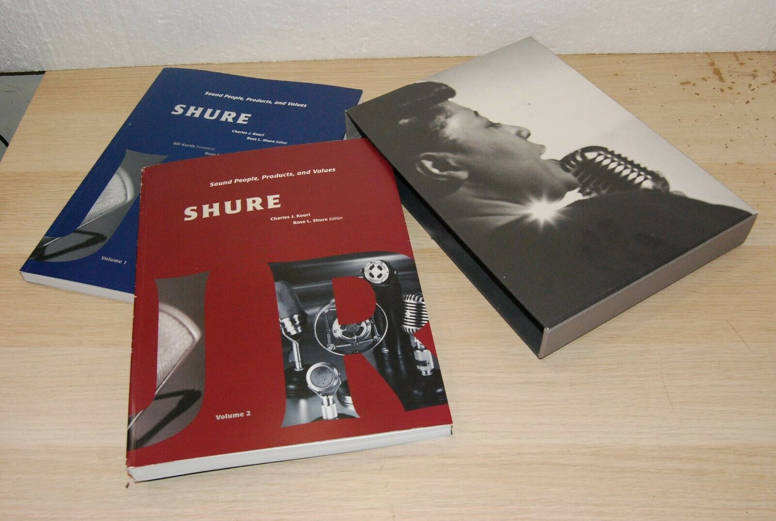 Vintage SHURE Sound People Products and Values By Charles J.Koul