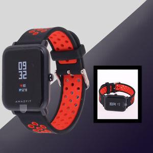 Original-20mm-Soft-Silicone-Watch-band-Wrist-strap-For-Xiaomi-Huami-Amazfit-New