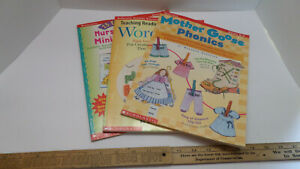 Scholastic Professional Books: K-3 Workbooks Lot of 3 - Very Good Condition