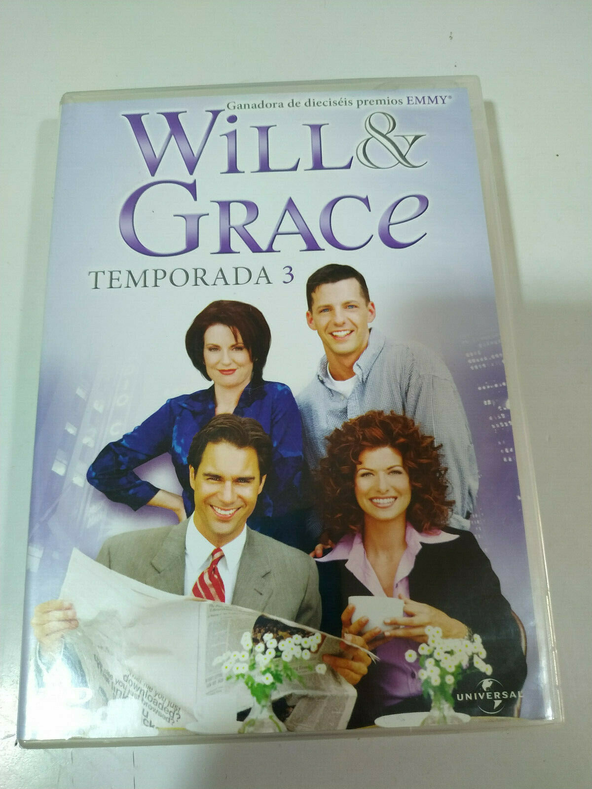 Will Grace Season 3 Complete 3 X Dvd Spanish English Region 2 3t For Sale Online Ebay
