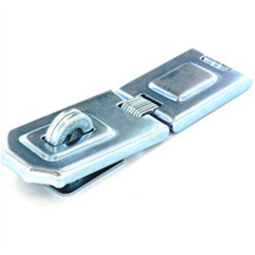 Securit flexible charnière Hasp /& Staple Zinc Plaqué 150 mm