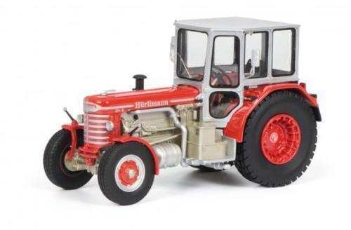 Schuco ProR 43 Hürlimann dh-6 ROUGE rouge Tracteur 1 43 art. 450902700