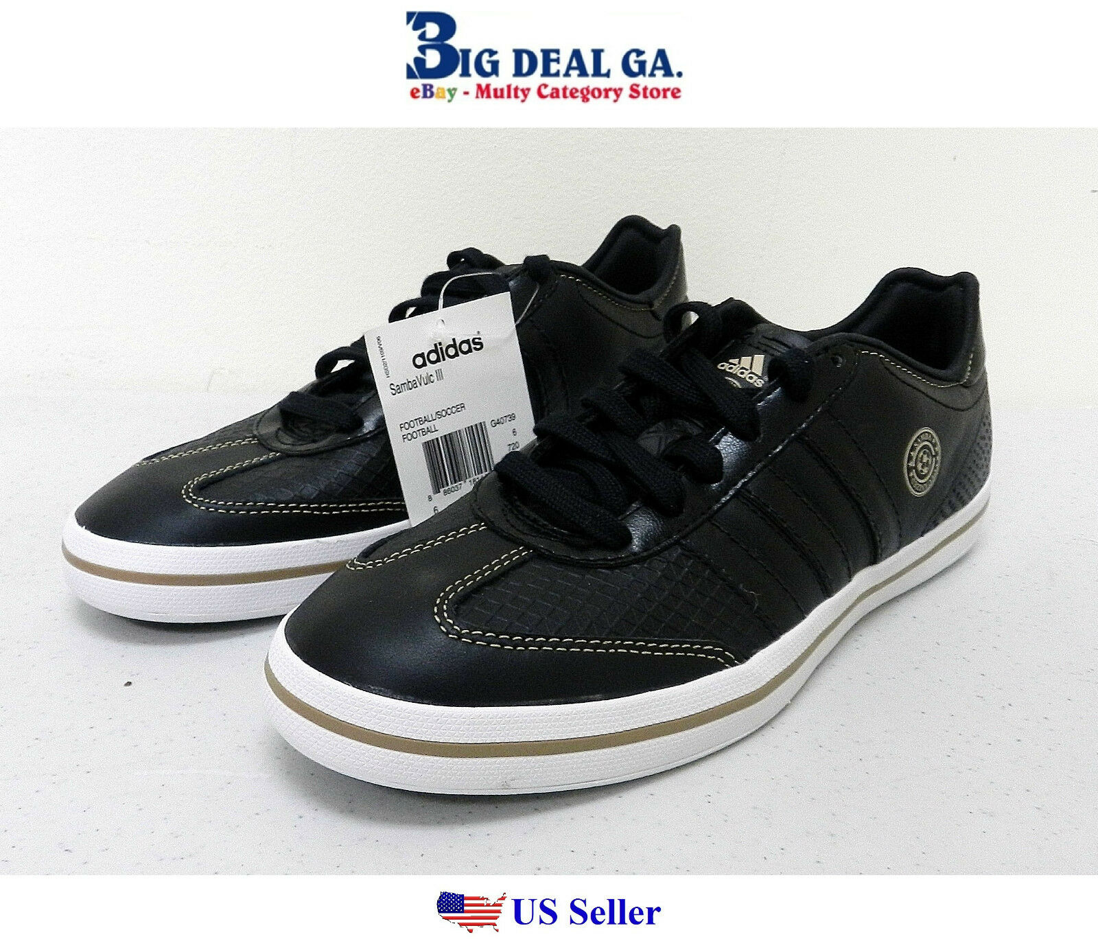 Adidas Samba Vulc III Men's Soccer Shoes G40739 Different Comfortable Cheap women's shoes women's shoes