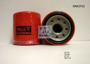 Details about WESFIL OIL FILTER FOR Motorcycle Oil Filters HONDA CBR900RR,  RE 1992-2004 WMOF02