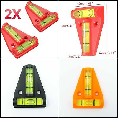 2PCS RV Trailer Camper Jack Stabilization Leveler T Level