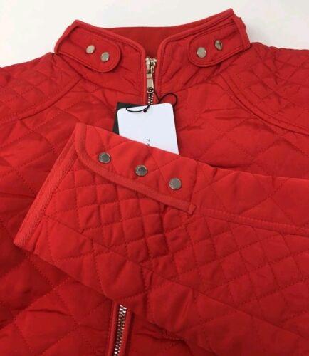 trapuntata rossa Zara Giacca taglia Zara Giacca Giacca trapuntata trapuntata Zara rossa taglia 8fxTwq4fU
