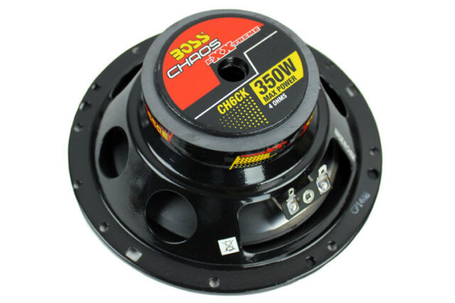 "BOSS AUDIO CH6CK CHAOS EXXTREME SERIES 6.5"" 2-WAY 350W COMPONENT SPEAKER PAIR"