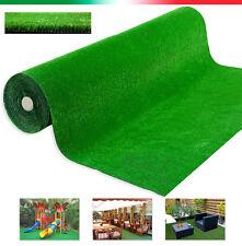 Erba sintetica SU MISURA multipli 50cm altezza 1mt tappeto prato verde giardino