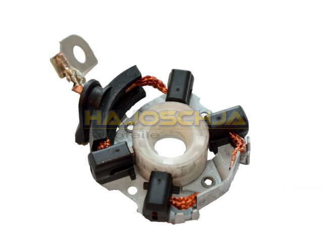 ORIGINAL BOSCH Soporte De Carbono Cepillo Carbón Motor Arranque para AUDI A1