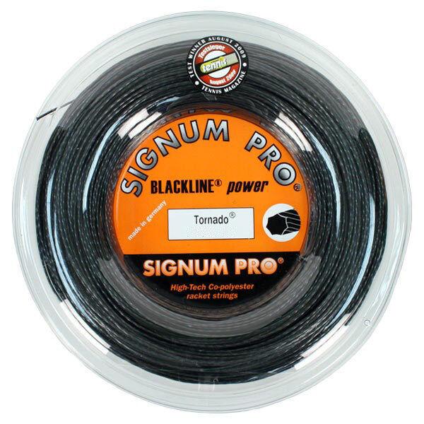 Signum Pro - Tornado 1.23mm 17G Tennis String - 200m Reel - Free UK P&P