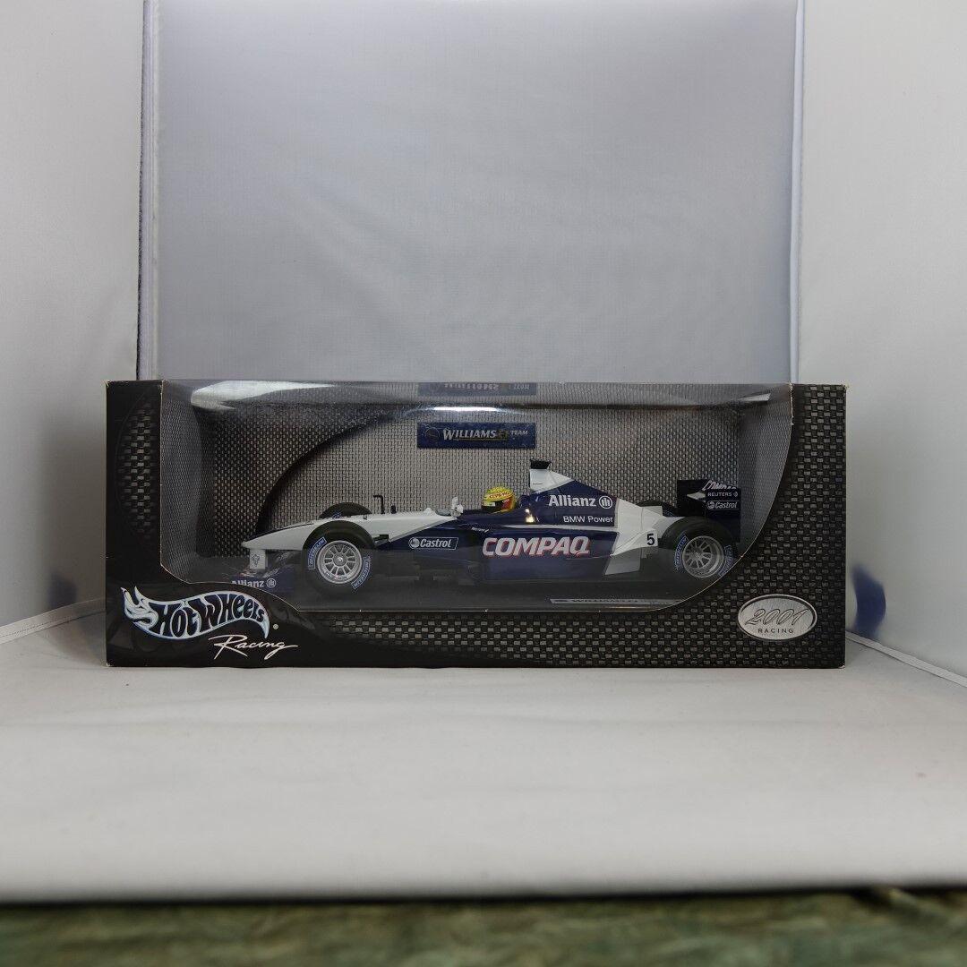 1 18, Signed, Ralf Schumacher, Williams F1 Team FW23, 2001 Formula 1 Hand Signed