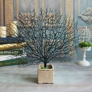 Tree-Artificial-Decor-Branch-Peacock-Props-Photography-Coral-Home-Plants