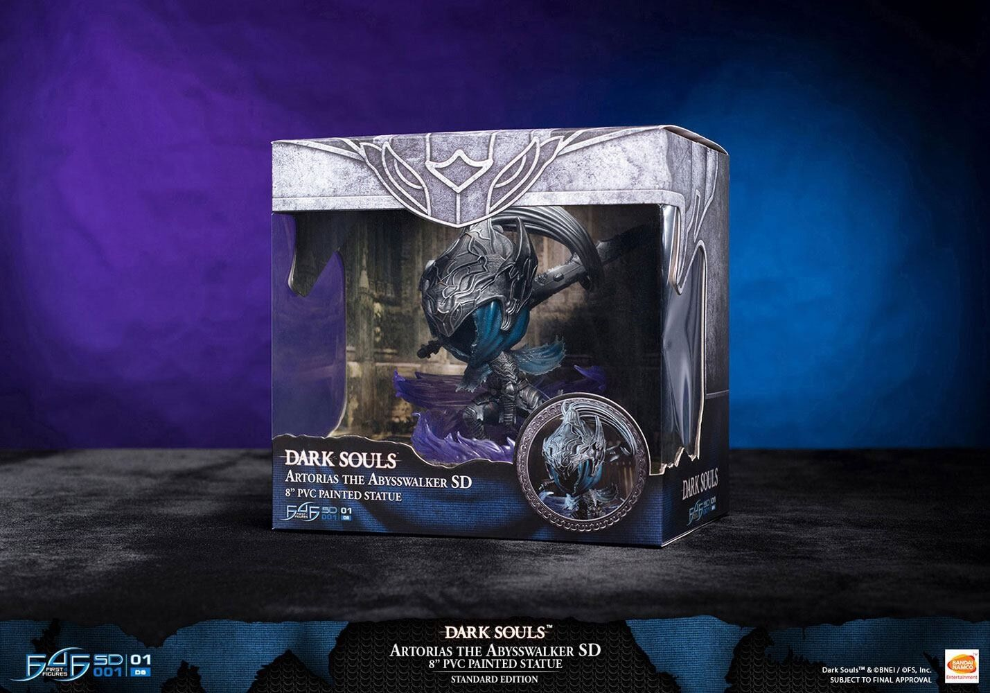 First4figures Dark Souls Artorias The Abysswalker Sd 8 Inch Pvc Painted Statue