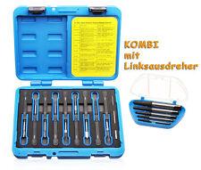 Auswerfer Entrieglung Auspin Werkzeug + 5 tlg. Linksausdreher Ausdreher