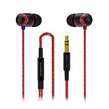 SoundMAGIC E10 In Ear Isolating Earphones - Black- & Red - Refurbished