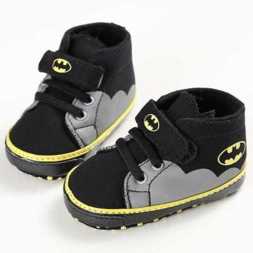 Boys High-Top Batman Baby Sneakers