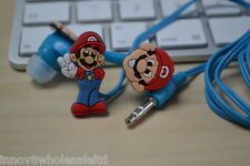 Mario In-Ear Earphone Headphone Earbuds For iPhone 5 5c 5s iPad 1-4 iPod 3.5mm