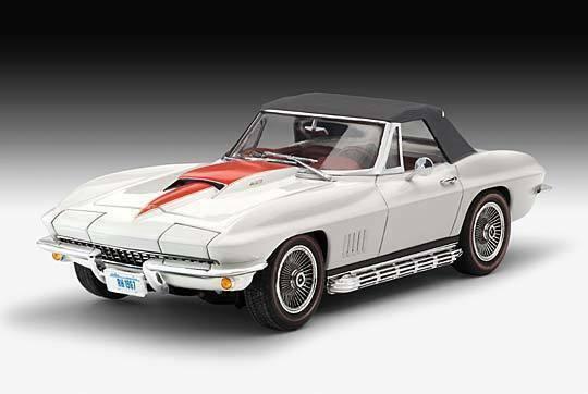 /'67 Corvette Convertible Oldtimer 1:25 Revell 07197
