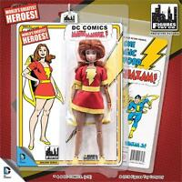 Shazam Retro Series 1; Mary Marvel 8 Inch Action Figure Mosc