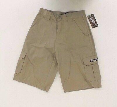 Billabong VERNON BOYS White Brown Tan Plaid Discounted Boy/'s Shorts