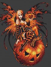 Halloween Fairy Cross Stitch Kit Fairies/Fantasy Free 1st Class Recorded post