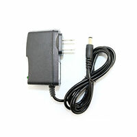 Black 12v 800ma 0.8a Ac-dc Adaptor Power Supply Charger 5.5mm X 2.5mm 6ft Us