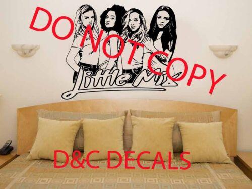 Little Mix Girl Pop Band Girls Room Wall Art Sticker//Decal