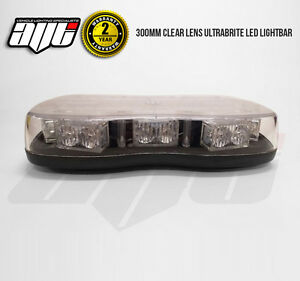 12v-24v-MINI-LED-LIGHTBAR-Recovery-Flashing-Warning-Hazard-Light-Bar-Beacon