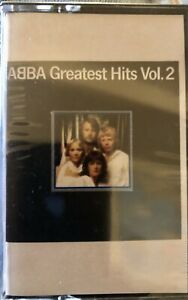 SEALED NEW ABBA GREATEST HITE VOL. 2 CASSETTE TAPE ONLY ONE ON EBAY LOOK!!