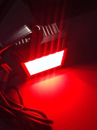 1 Superbright Red Led Underwater dock light. 28 watt