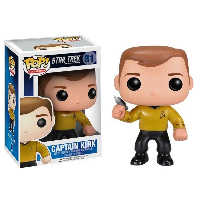 Funko Pop Movie Estrella Trek capitán Kirk 81 Raro Nuevo
