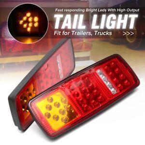 2pcs-12V-LED-Feux-Arriere-4-Fonction-Camion-Remorque-Caravane-Fourgon-Tracteur