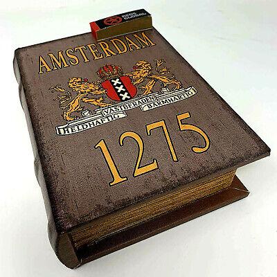 Amsterdam 11 Reds Exclusive Magic Leaf Mini Book Stash Rolling Box