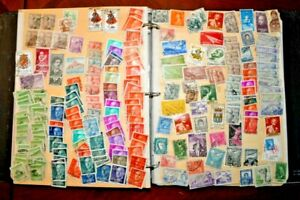 CatalinaStamps-World-Wide-Collection-in-Stock-Album-2-248-Stamps-Lot-D115