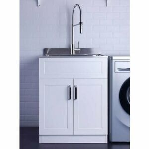 Stainless Steel Utility Laundry Sink 25