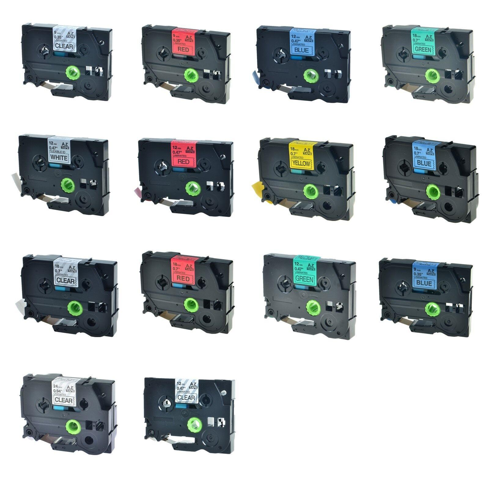 6 9 12 18 24 36mm Schriftbänder für Brother P-Touch TZ-231 221 251 335 241 631 | Wirtschaft  | Bequeme Berührung  | Verschiedene