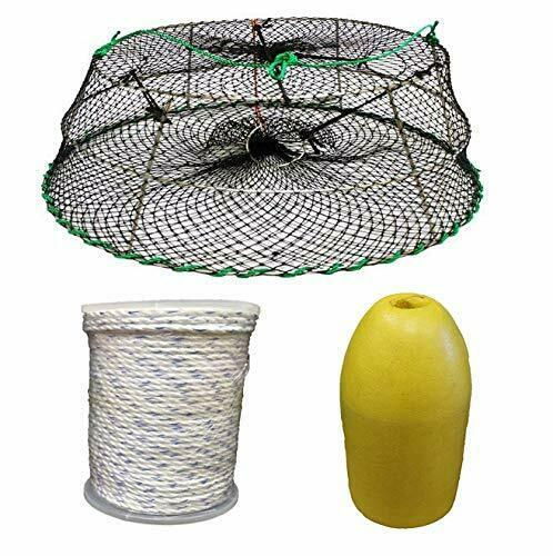KUFA Sports Tower Style Stainless Steel Prawn Trap & Accessory Combo CT76+FYM403