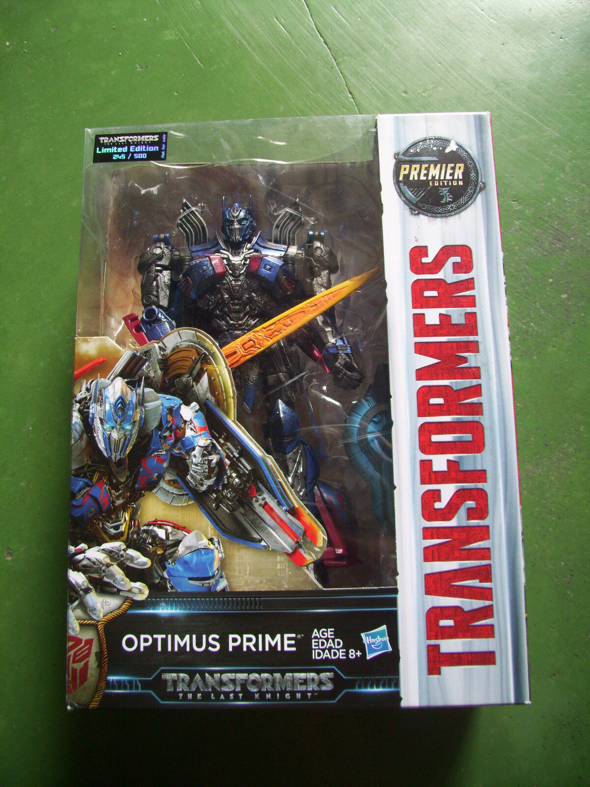 Transformers The Last Knight Optimus Prime TRU Limited Edition MISB 245 500