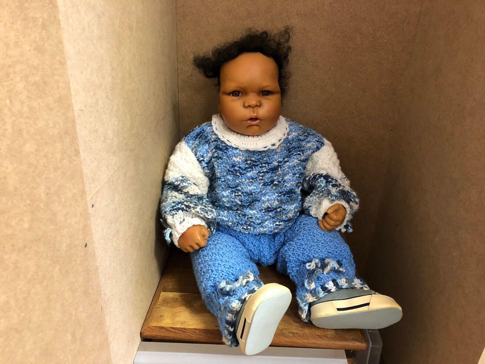 Katja Schneider & ruth Kunz resin muñeca 57 cm. top estado