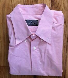 Very-Rare-VENANZI-Mens-Long-Sleeve-Dress-Shirt-15-1-2-39-MADE-IN-ITALY