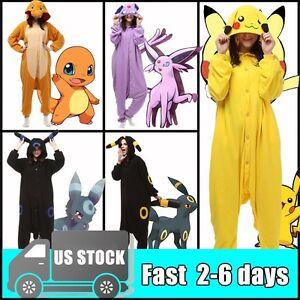 anime pokemon pikachu kigurumi adults cosplay costume one piece