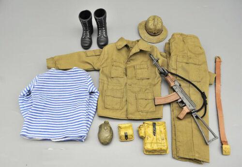 """1//6 Scale Soldier Uniform Set /& AK47 Model for 12/"""" Action Figure"""