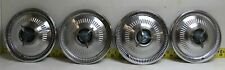 Used Oem Ford 14 3 Bar Spinner Hub Caps Set Of 4 1964 Fairlane Sport Coupe42 Fits Fairlane