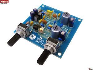 KEMO B156N UKW-EMPFÄNGER 9V//10mA Bausatz FM-radio receiver-kit B156